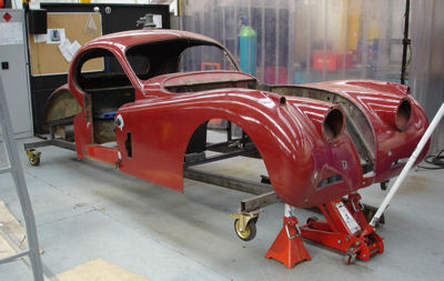 Jaguar XK 120 Body Small