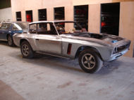 Jensen Interceptor SP Restoration at Paul Baker Custom Metalwork, Hampshire