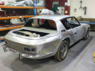 Jenson Interceptor Restoration at Paul Baker Custom Metalwork, Hampshire