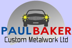 Car Welding,  Classic Car Restoration at Paul Baker Custom Metalwork, Hampshire UK